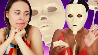 Women Try A Face Mask From The 90s