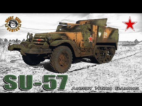 War Thunder: SU-57, Russian, Tier-1, Premium Tank Destroyer
