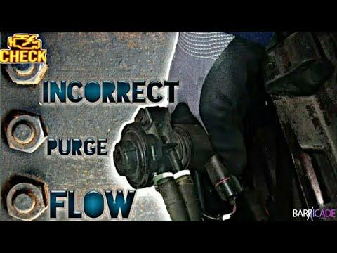 ERROR CODE P0441(PURGE VALVE REPLACEMENT)