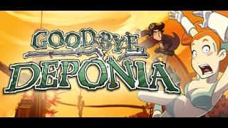 Goodbye Deponia Gameplay Walkthrough Point & Click Adventure NO COMMENTARY