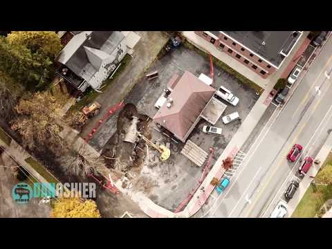 GIANT Sinkhole in East Aurora, NY - Drone Footage by Dan Oshier Productions