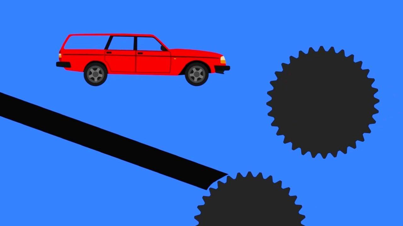 Phun Algodoo - Ultimate Car Destruction #4