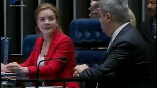 Duas horas de debate no Senado: Requião, Gleisi e Lindbergh discutem saídas para a crise