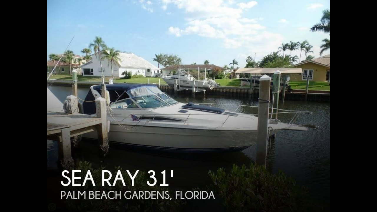 sold used 1990 sea ray 310 express cruiser in palm beach gardens florida [ 1280 x 720 Pixel ]