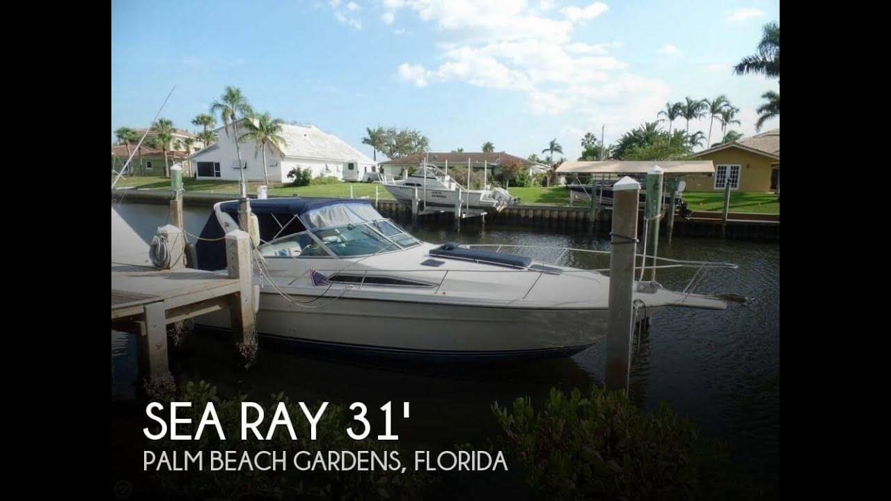 medium resolution of  sold used 1990 sea ray 310 express cruiser in palm beach gardens florida