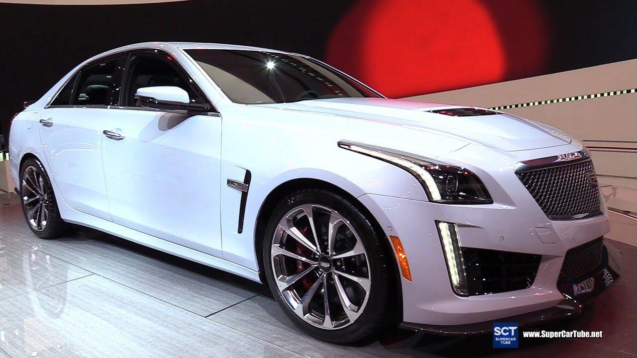 2018 cadillac cts v glacier metallic edition exterior interior walkaround 2018 detroit auto - Cadillac cts v glacier metallic edition ...