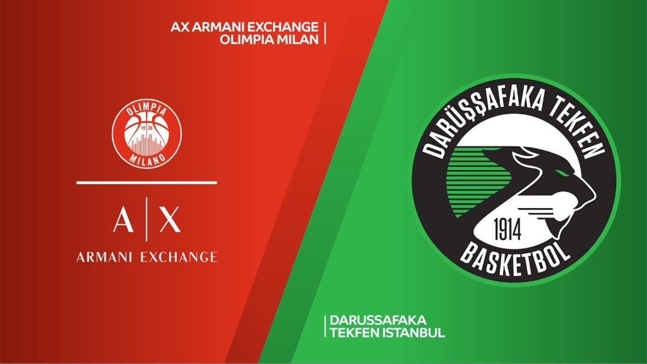 ÖZET | AX Armani Exchange Olimpia Milan - Darussafaka Tekfen Videosu