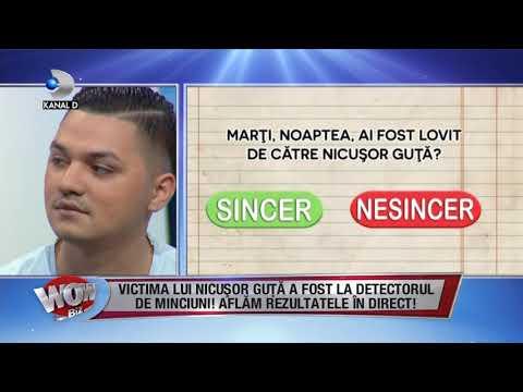 WOWBIZ (27.11.2017) - Victima lui Nicusor Guta, la detectorul de minciuni! Partea III