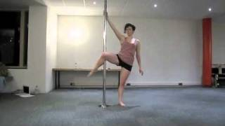 Pole Dancing Competition Routine - Imogen Heap, Hide & Seek