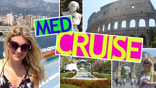 P&O CRUISE ❤️ Venice to Genoa (inc. Rome)