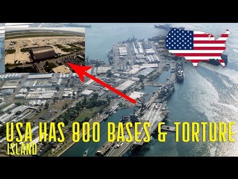 Why USA has 800 Military Bases across the Globe and Islands