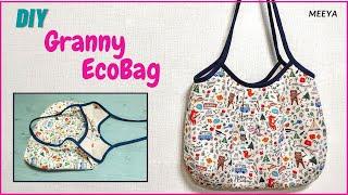 DIY 그래니 에코백만들기|Making Granny e…