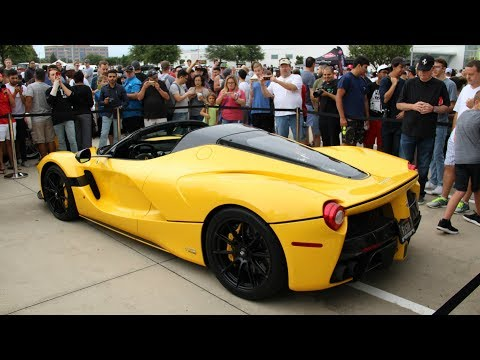 LaFerrari Shows Up To Cars and Coffee Dallas October 2017!