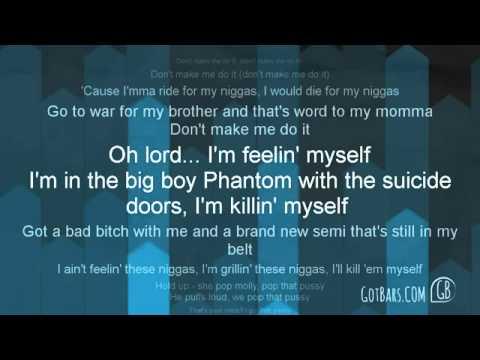 Vado ft. Ace Hood, Meek Mill   French Montana - Don't Make Me Do It  Lyrics