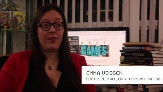 Emma Vossen: First Person Scholar: Publish with Purpose