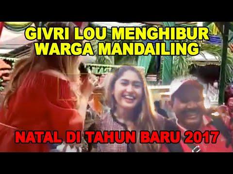 GIVRI LOU MENGHIBUR WARGA MANDAILING NATAL DI TAHUN BARU 2017