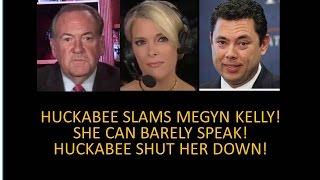 video clip that got trump elected huckabee slams megyn shut kelly down like donald trump jr did