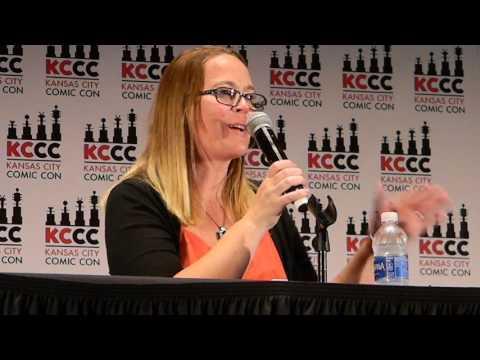 Carrie Henn Newt from Aliens  panel Kansas City Comic Con Sat 832016
