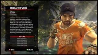 Dead Island: Riptide - All Character's Bios [HD]
