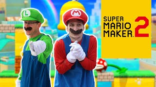 Super Mario Maker 2 IN REAL LIFE