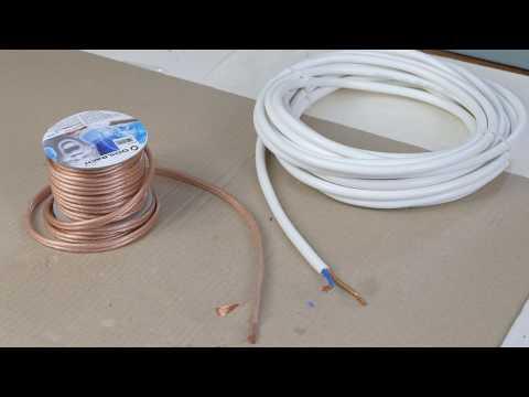 Провода для акустики своими руками