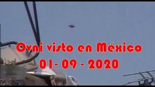 Ovni es visto al sur de México el 01 - 09 - 2020