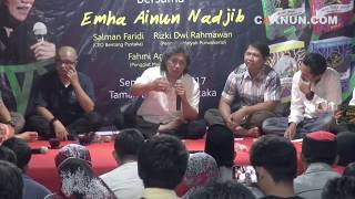 Cak Nun : Anak Asuh Bernama Indonesia Part 1/2