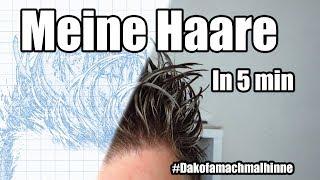 Hairstyle Tutorial | Igel Haare | Wie man meine Haare hin bekommt | #Dakofamachmalhinne
