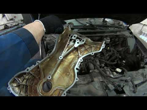 Цепь ГРМ сборка / Mazda CX-7 музыкальное сопровождение