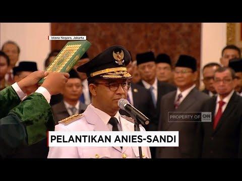 Sah! Anies-Sandi Resmi Pimpin Jakarta