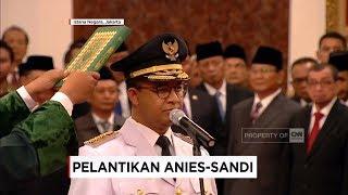 Video Sah! Anies-Sandi Resmi Pimpin Jakarta, Pelantikan Gubernur & Wagub DKI oleh Presiden Jokowi download MP3, 3GP, MP4, WEBM, AVI, FLV Desember 2017