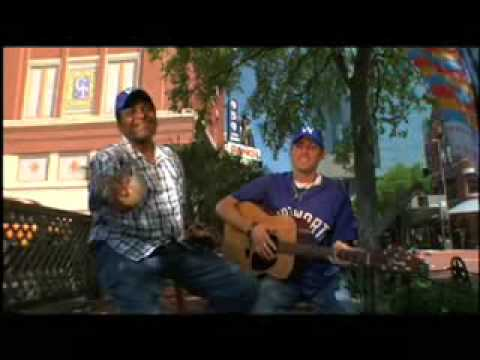 Fort Worth Cats Baseball Commercial Charley Pride