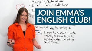 How to learn MORE English with Emma