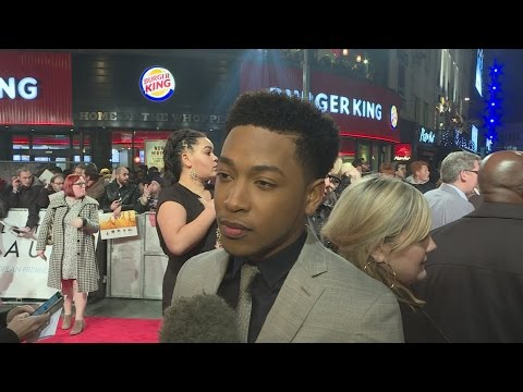 Collateral Beauty premiere: Jacob Latimore on Kate Winslet helping him with his lines