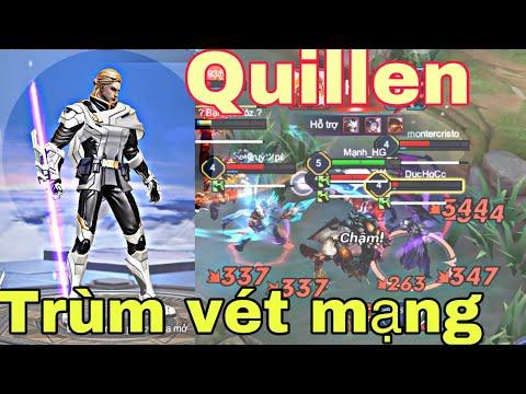 Quillen mùa 16 mạnh như thế này đay cách chơi quillen lên rank cao thủ trang bị bảng ngọc phù hiệu