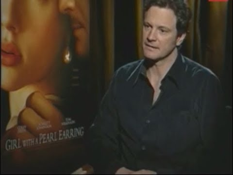 Colin Firth Talks About Scarlett Johansson and 'Girl with a Pearl Earring'