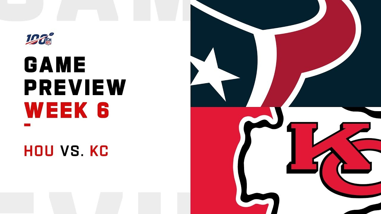 Houston Texans vs. Kansas City Chiefs Week 6 NFL Game Preview