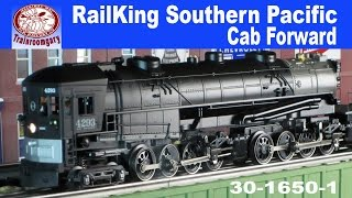 railking southern pacific cab forward