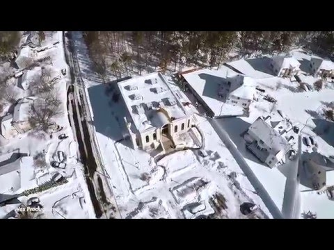 Blizzard 2016 Lakewood, NJ Aerial Footage
