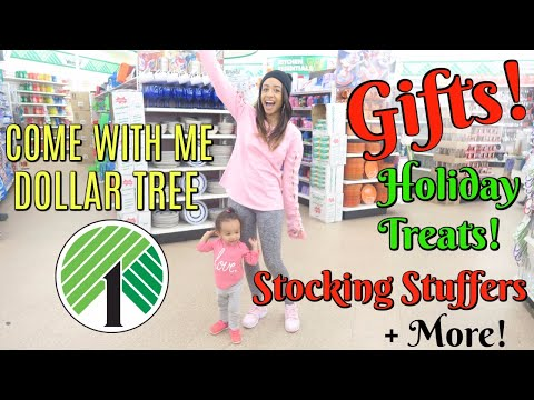 COME WITH ME TO DOLLAR TREE FOR YOUR HOLIDAY GIFTS, STOCKING STUFFERS AND MORE!