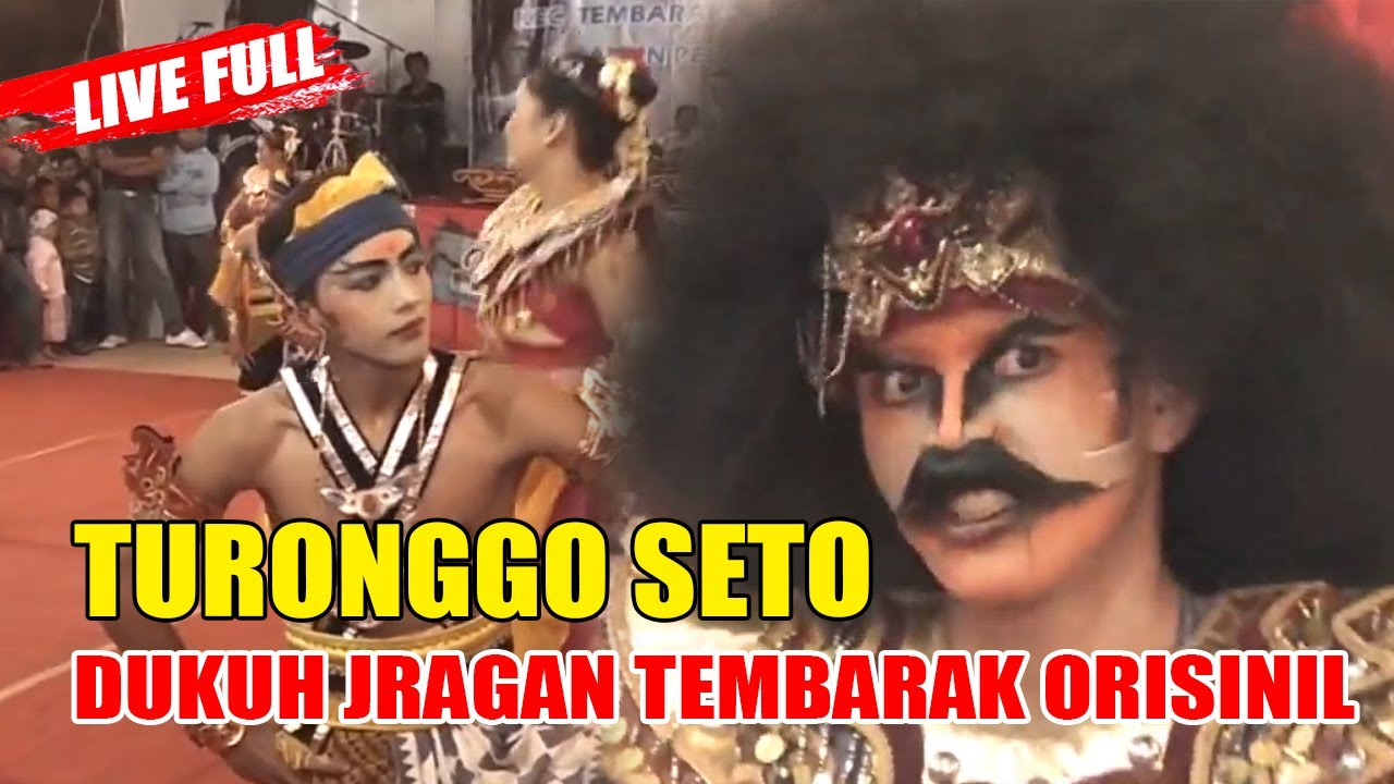 Kuda Kepang Orisinil Turonggo Seto Jragan Tembarak Live Pelepasan Tk jragan