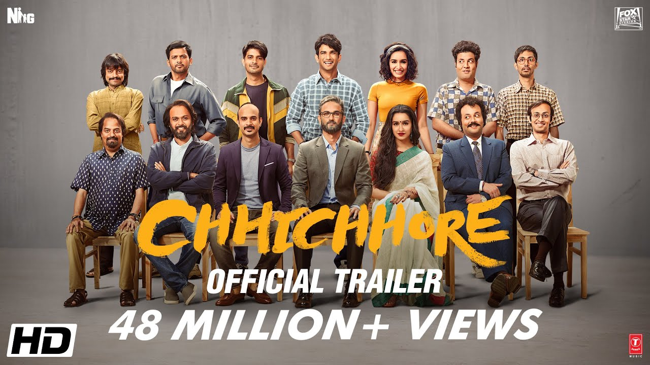 Chhichhore 2019 Hindi Movie in 720p 1.1GB HDRip Movie Torrent Free Download