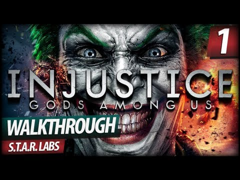 Injustice Gods Among Us Walkthrough - S.T.A.R. Labs | Superman Missions