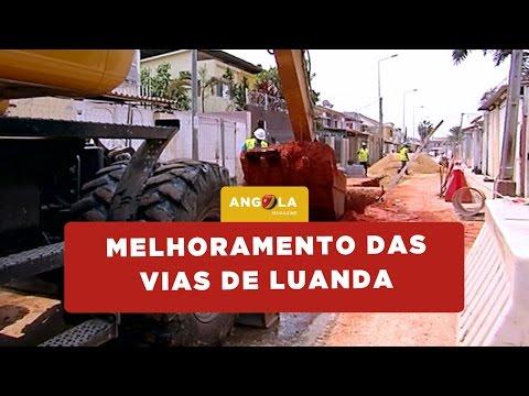 Angola Magazine | Melhoramento das vias de Luanda