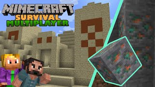 Minecraft Survival Multiplayer ⛏ | Caves and Cliffs Update | 1.17 Let's Play | EP01