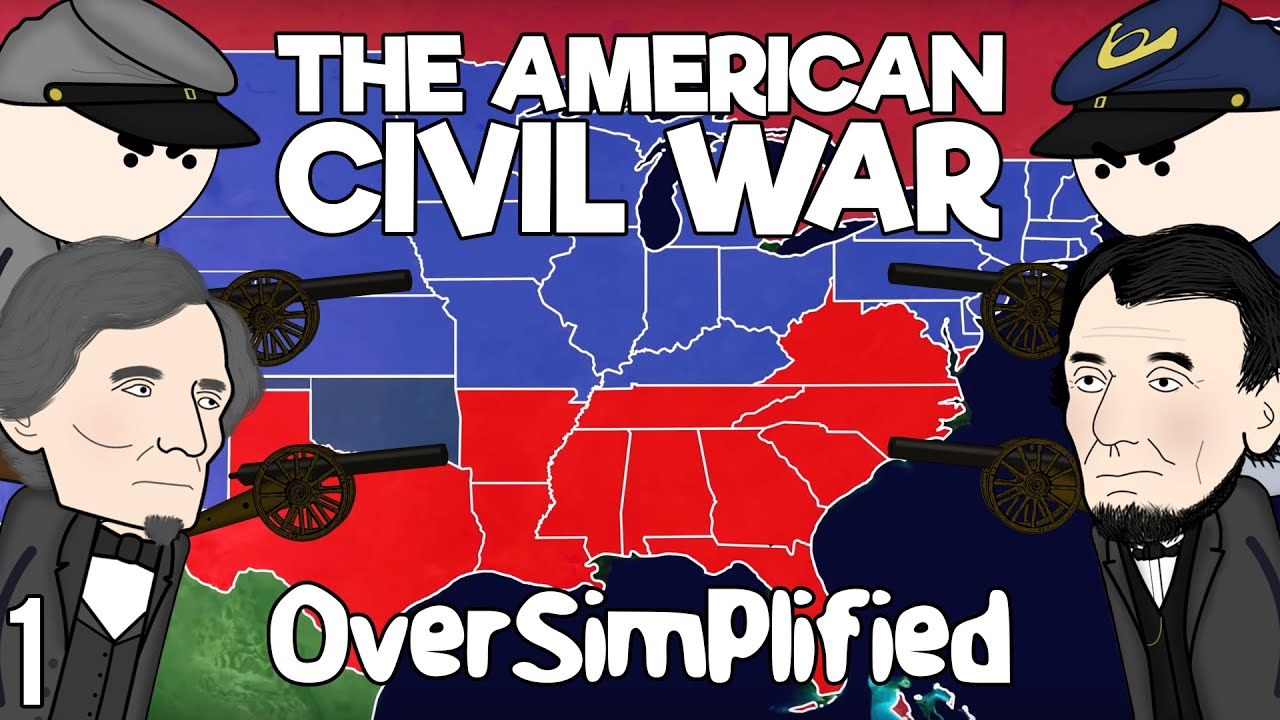 Download The American Civil War - OverSimplified (Part 1)