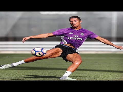 Cristiano Ronaldo Training for Real Madrid 2017 Recovering from injury