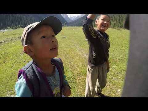 Trekking Kyrgyzstan 2017 - Solo Adventure - Song Kol- Arakol - Jyrgalan