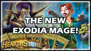 THE NEW EXODIA MAGE! - Boomsday / Constructed / Hearthstone