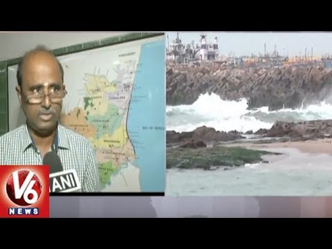 Cyclone Gaja To Hit Kadaluru In Nellore District, IMD Issues Warning | V6 News